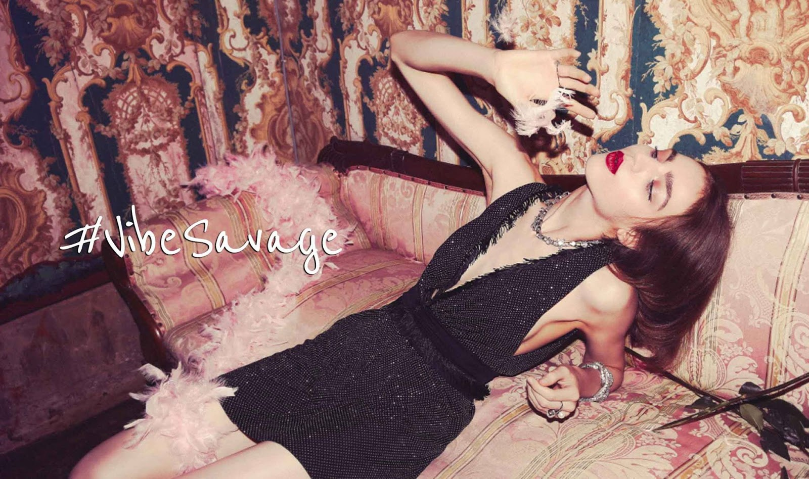 Pinko 'Vibe Savage' Holiday 2017 Collection