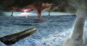 Resultado de imagem para O Dilúvio: Apenas uma Catástrofe Local?