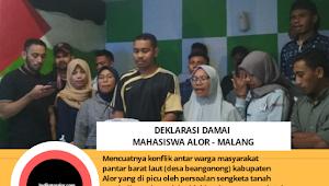 Pantar Barat Ricuh, Berikut 5 Tuntutan Mahasiswa Alor Malang