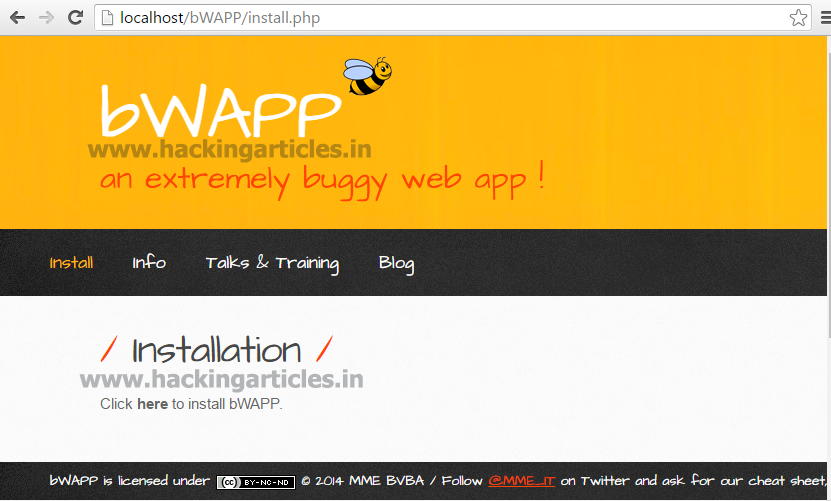 Web application penetration testing blog