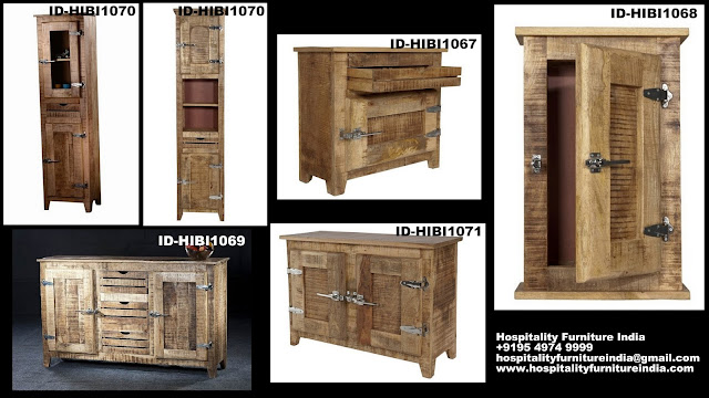 Retro rough wood furniture