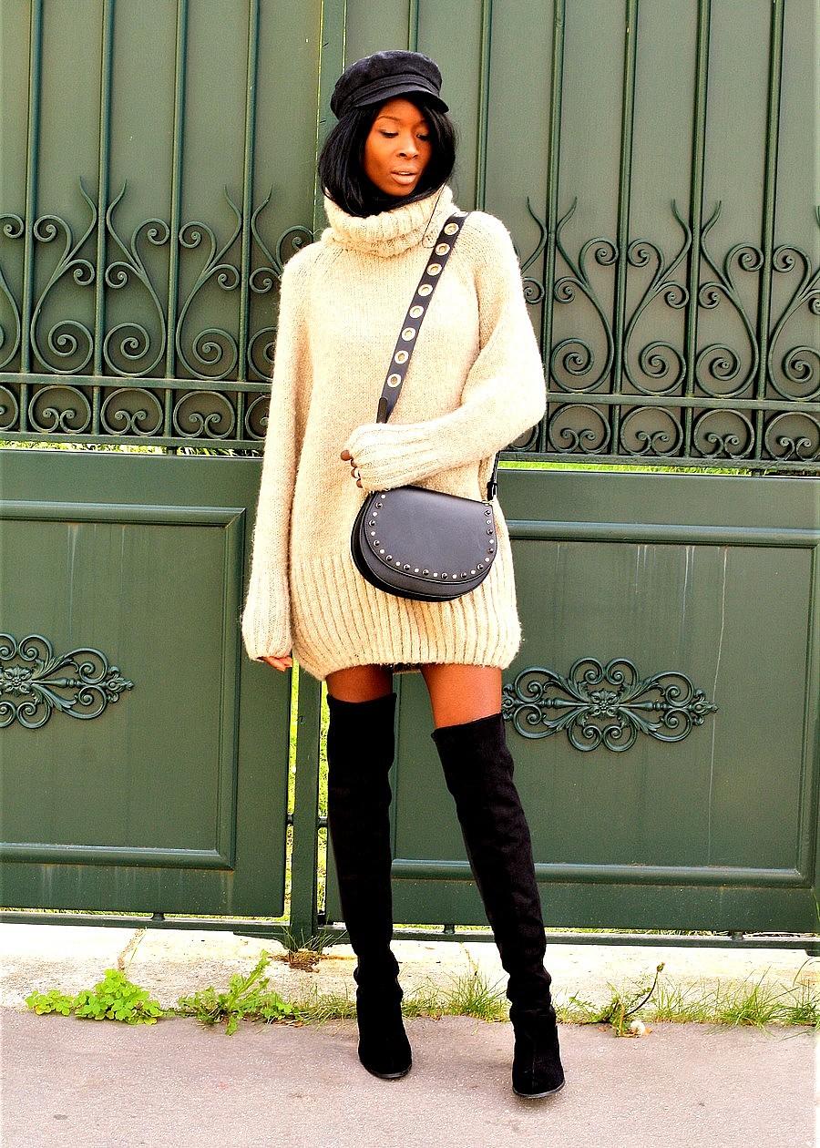 casquette-marin-cuissardes-robe-pull