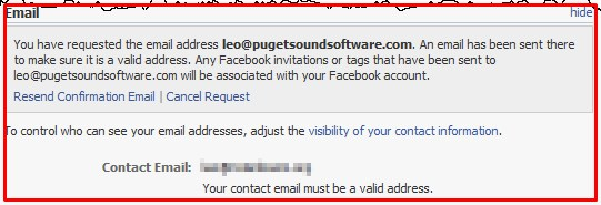 how to change your email on facebook to login