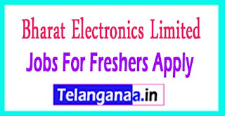 Bharat Electronics Limited BEL Recruitment 2017 Jobs For Freshers Apply
