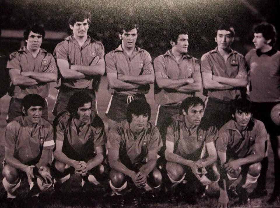 Formación de Chile ante Uruguay, Copa Juan Pinto Durán 1971, partido de vuelta