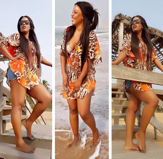 empress njamah at the beach