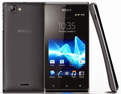 Harga hp Sony Xperia J ST26i