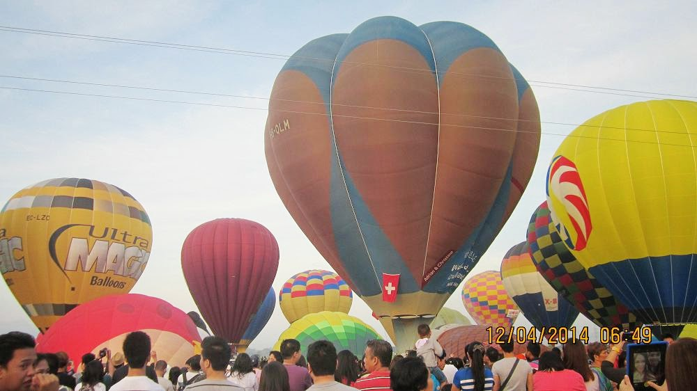 hot air balloon pampanga 2018