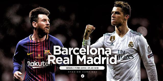 Prediksi Bola Barcelona vs Real Madrid Liga Spanyol
