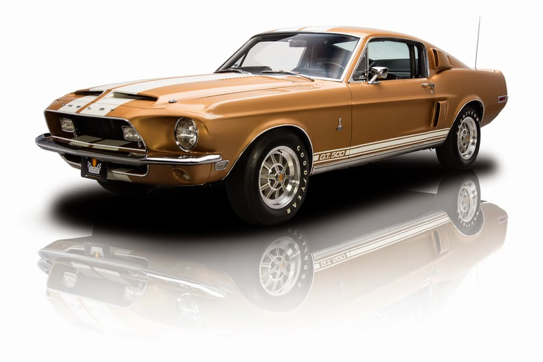 1968 ford shelby mustang gt500 for sale american muscle cars. Black Bedroom Furniture Sets. Home Design Ideas