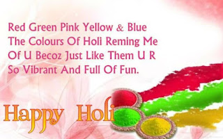 Holi sms for friends and girlfriends on whatsapp