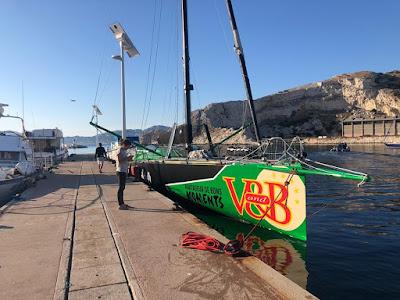 V and B est arrivé à Marseille