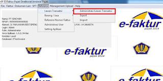Cara Menggunakan Aplikasi E-Faktur