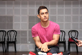 Aamir Khan at 'Satyamev Jayate' media conference
