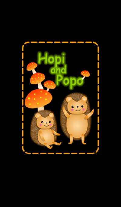 Hopi and Popo.