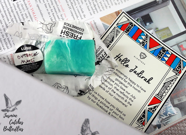 LUSH Outback Mate Soap