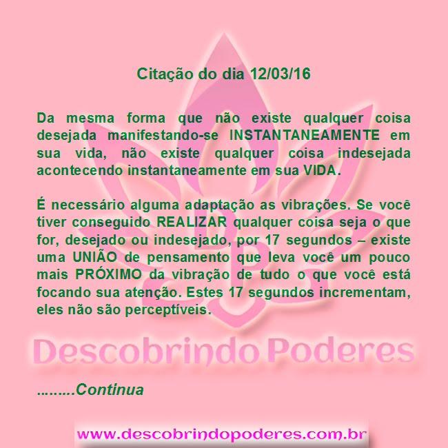AS COISAS NÃO SÃO INSTANTÂNEAS!!