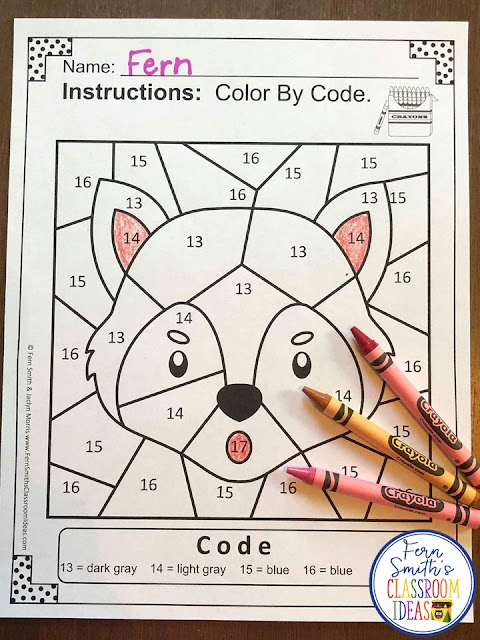 If you are looking for a resource for math remediation while still giving your students some confidence while reviewing important math skills, you will love this series. These five Color By Number worksheets focus on Numbers 11 to 20 with a cute Three Little Pigs theme. The five pages have only a few color selections and only a few numbers, to help your students focus on the repetitive pattern of numbers 11 to 20. All the while giving your students a fun and exciting review of important math skills at the same time! You will love the no prep, print and go ease of these printables. As always, answer keys are included.