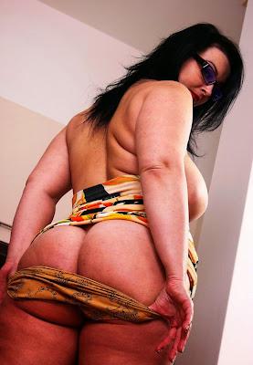 толстая женская жопа