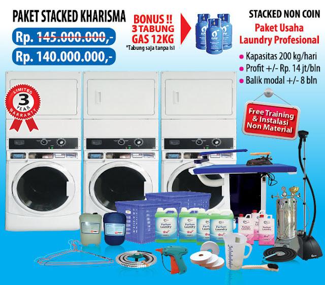 4-PAKET-KHARISMA Paket Usaha Laundry kredit Tanpa survey