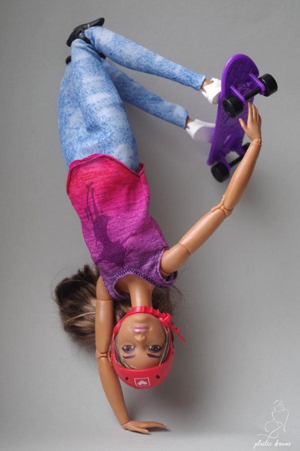 skateboarder barbie doll