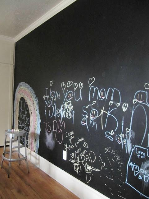 Playroom Chalkboard Wall House