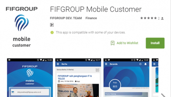 Aplikasi FIFGROUP Mobile Customer