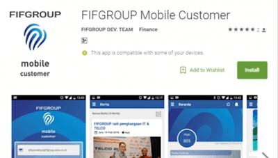 Aplikasi FIFGROUP Mobile Customer