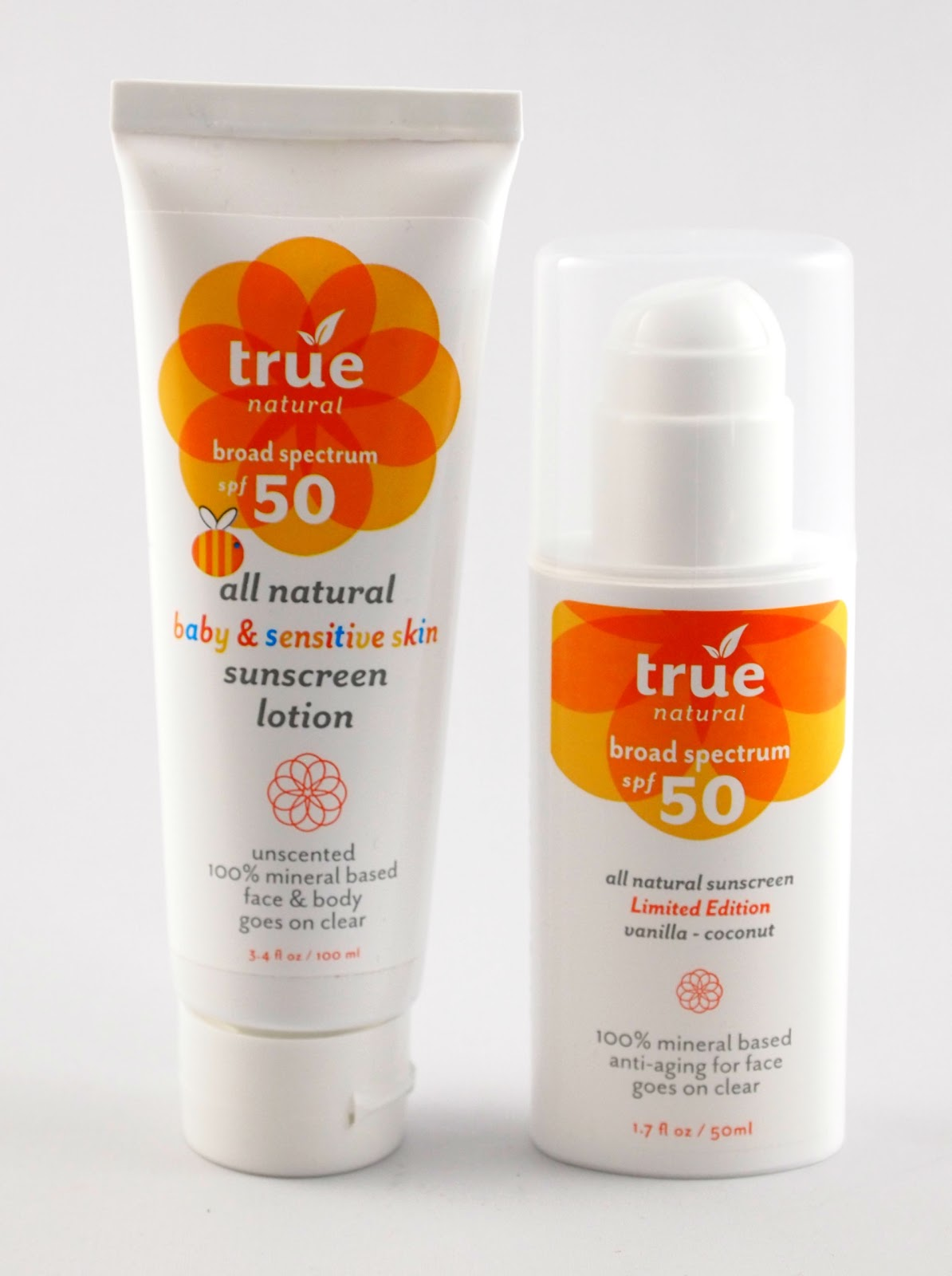 kaylin s kit review and giveaway true natural sunscreen