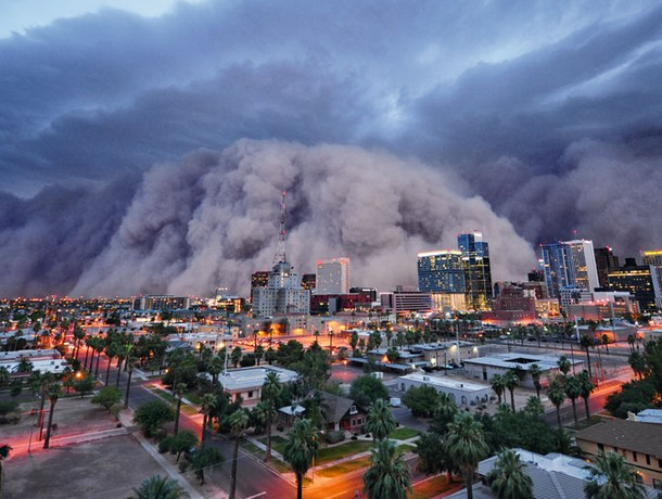 Dust Storm , ARIZONA
