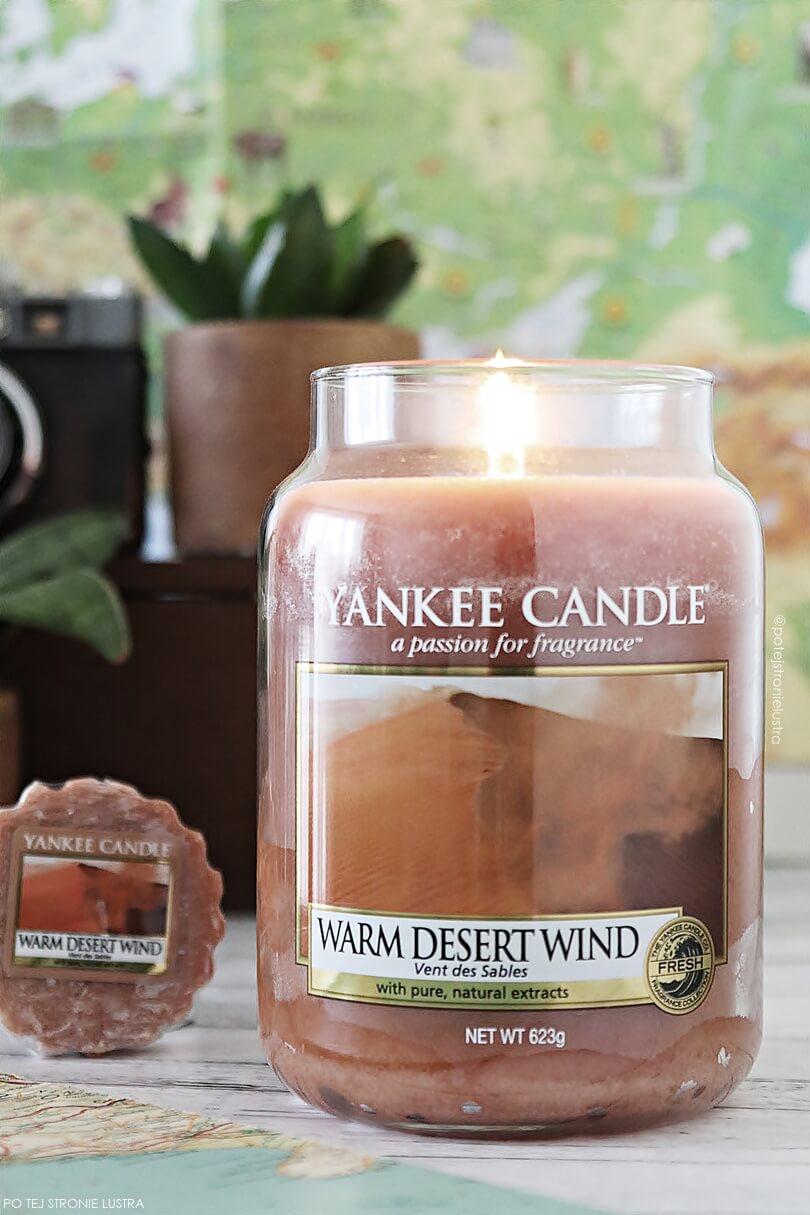 świeca yankee candle warm desert wind