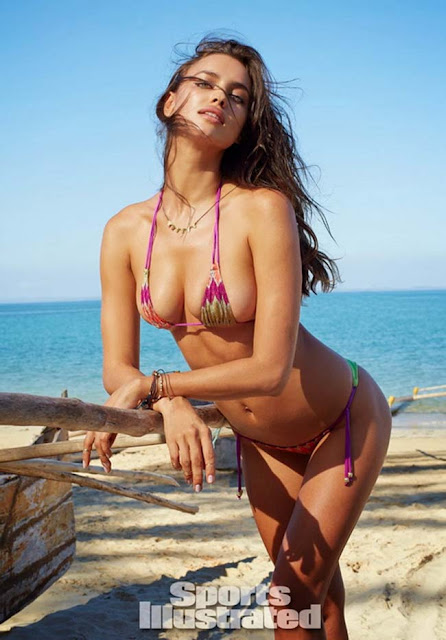 Hot girls Irina Shayk super sexy Bra model 3