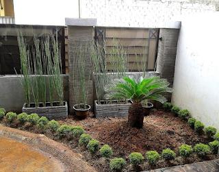 Paving halaman rumah minimalis