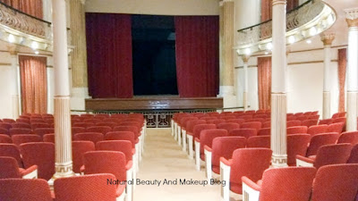 auditorium with chairs inside Dom Pedro V Theatre, the oldest theatre of Macau and a part of Historic Centre of Macao