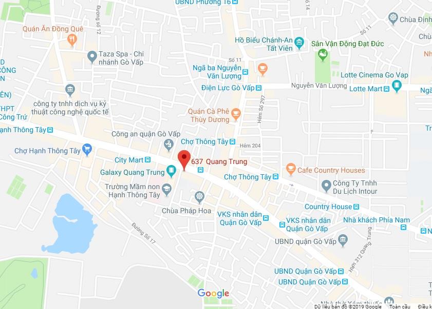 Bán nhà hẻm 637 Quang Trung phường 11 quận Gò Vấp giá 1,6 tỷ