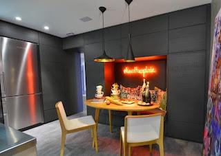 desain dapur minimalis kontemporer modern | koleksi gambar