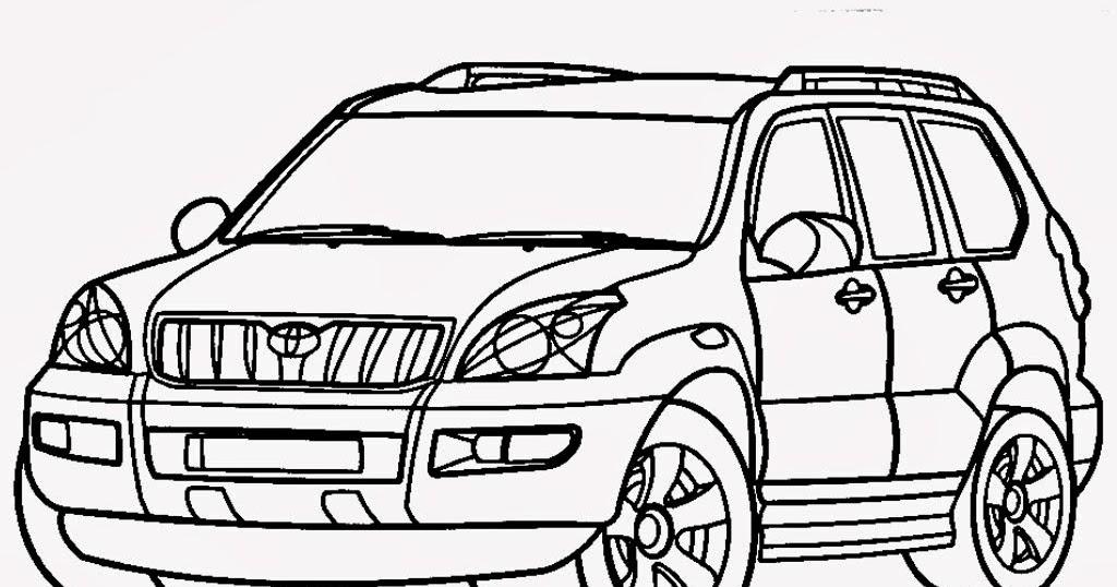 34 Ini Sketsa Mobil Fortuner Terlengkap Hobisket