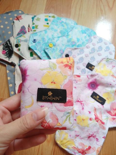 Malaysia homemade cloth sanitary pads