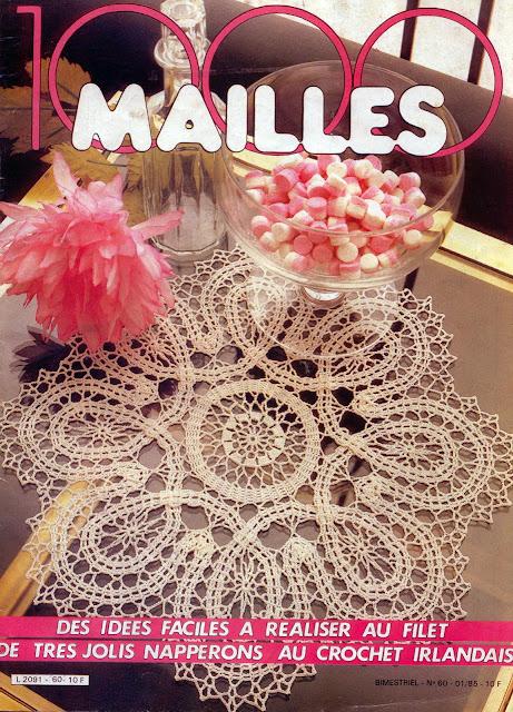 журнал 1000 Mailles № 60 01-1985 схема