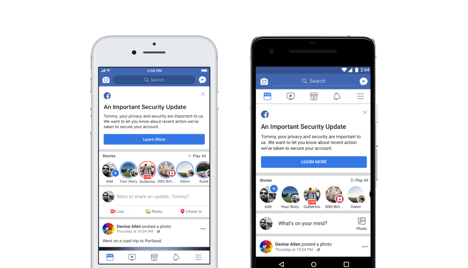 Facebook security issue affects 50M user accounts