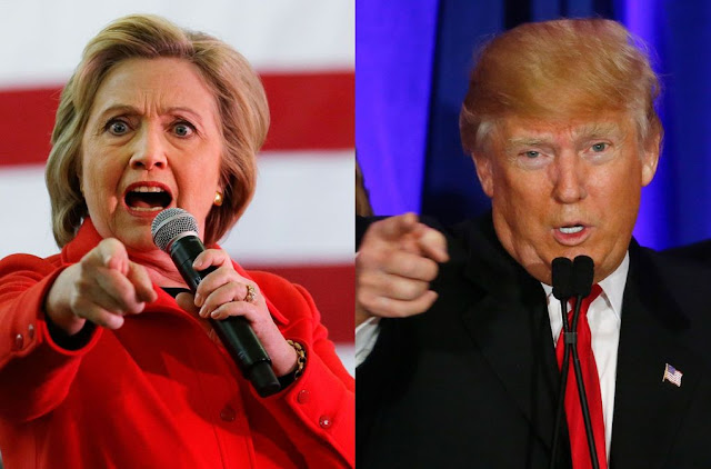 Big Debate on Illary Clinton vs Donald Trump on US Elections
