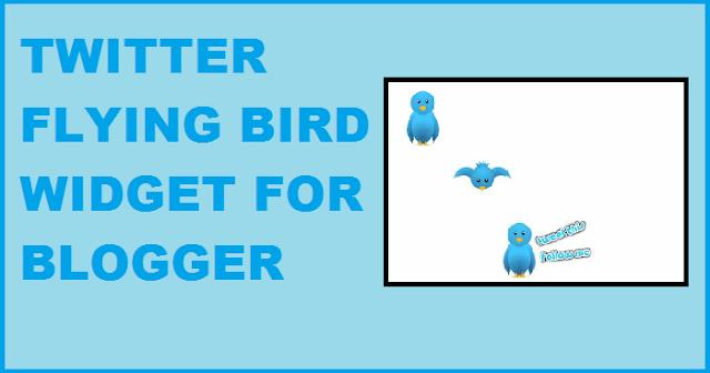 twitter widget blogger attract traffic