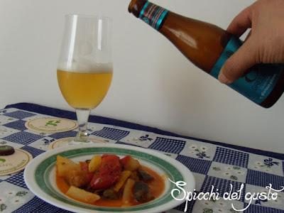 caponata con birra gluten-free