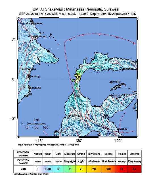 Sempat Dilanda Getaran Gempa, BMKG : Wilayah Toraja Masih Aman