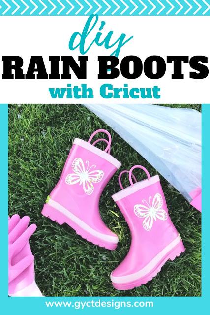 vinyl rain boots