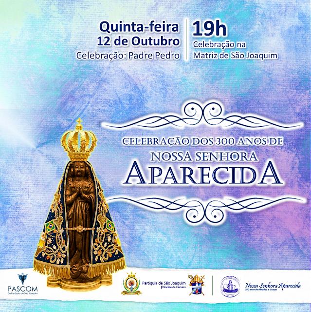 300 ANOS DE FÉ: Missa Solene e Procissão marcaram dia da Padroeira em São Joaquim do Monte.