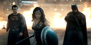 Batman v Superman Wonder Woman DC trinity