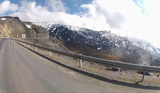 Bela vista das montanhas.