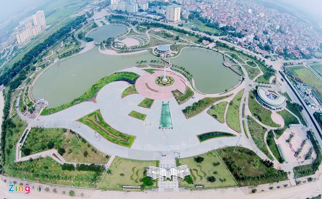Công viên hòa bình - Chung cư 789 Xuân Đỉnh