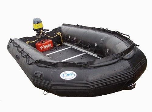 Pengertian Rubber Boat / Perahu Karet